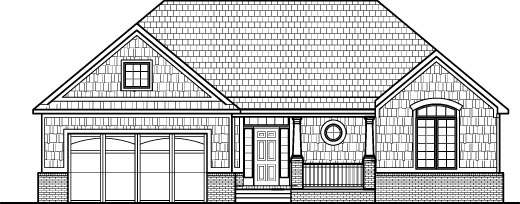 Simple drawings of houses elevation 3 bedroom house floor for Two story house drawing
