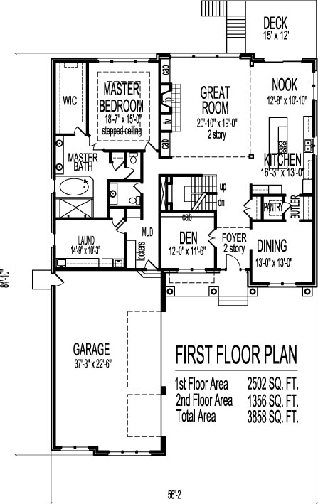 Bungalow House Floor Plans Design Beautiful 2 Story Four Bedroom on home designs in ghana, hotel designs in ghana, semi detached house designs in ghana, building designs in ghana,