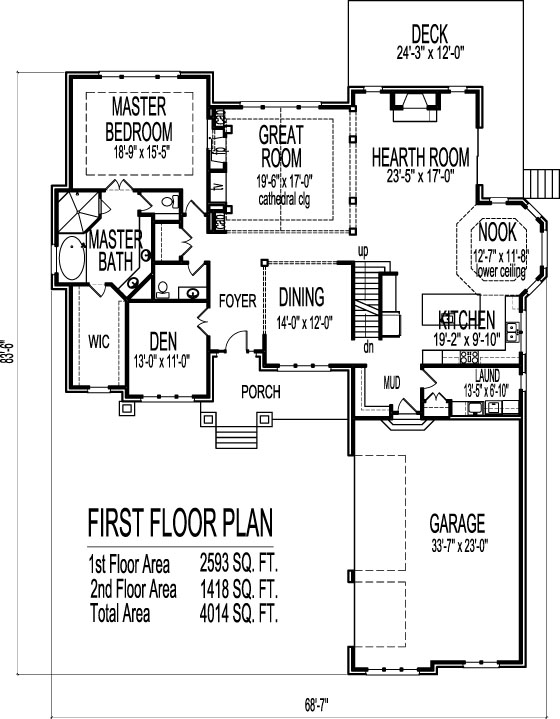 217037312 further 7700 Square Feet 6 Bedrooms 4 Batrooms 4 Parking Space On 2 Levels House Plan 19161 further 4 Bedrooms House Plans together with The Hatfield Duplex further 24 X24 House Plans1 Bedroom. on 5 bedroom colonial home plans
