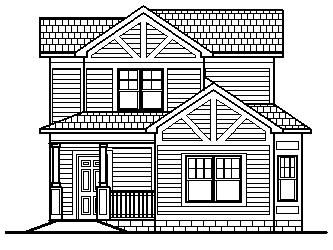 Simple Narrow Lot Tiny House Plans Low Cost Affordable 2 Story 1500 SF ...