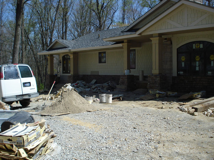 Ranch Style Home Additions Garage Addition Front